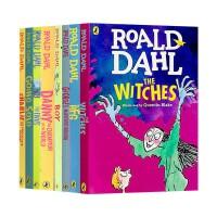 �_��德�_��童��8�蕴籽b Roald Dahl 英文原版�和�章��蛄�� 查理和巧克力工�S 女巫 好心眼�A�艟奕� 英文版中小