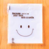 烘焙DIY 可爱笑脸包装袋 糕点饼干 土司 吐司袋 10个/组