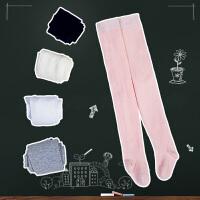 女童连裤袜小孩舞蹈袜春夏季婴幼儿童薄款透气公主纯棉打底袜白色
