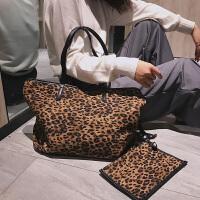 2018新款韩版豹纹包手提包单肩包时尚女式大包包女包