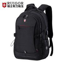 瑞士军刀双肩包男瑞士时尚潮流初中学生书包女大容量旅行电脑背包