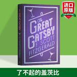 了不起的盖茨比 英文原版小说英文版 The Great Gatsby 经典名著文学小说 菲茨杰拉德 F Scott F