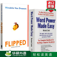 word power made easy 单词的力量 英语说文解字 英文原版工具书+Flipped 怦然心动 英文原版小