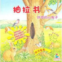 抽拉书好奇的小兔子――宝贝快乐学(一套有助于开阔幼儿智能的情景认知书;一套幼儿手脑互动的益智启蒙书;一套旨在培养幼儿审