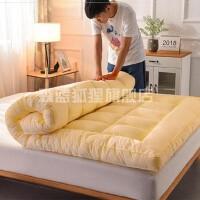 家用棉家庭铺床拆洗垫简易可手洗大学生床垫冬季加厚保暖可拆洗。