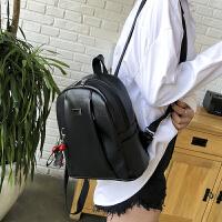 双肩包时尚潮流学院风学生书包休闲旅行包包韩版简约百搭女士背包