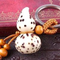 葫芦挂件木雕礼品千眼菩提貔貅钥匙扣