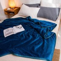 冬季珊瑚毯子加厚加绒保暖床垫毛毯被子双人法兰绒毛绒床单人宿舍
