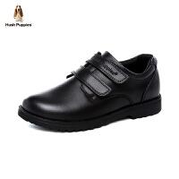 【到手价:229元】暇步士Hush Puppies童鞋18新款儿童皮鞋男童时装鞋校园学生鞋表演鞋 (7-12岁可选)