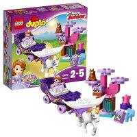 LEGO乐高得宝系列10822小公主苏菲亚的魔法马车大颗粒积木