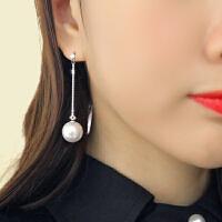欧丁韩国耳环耳钉长款流苏耳坠气质女简约甜美百搭时尚饰品欧美H051