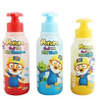 啵乐乐韩国进口儿童洗发水沐浴露山羊奶成分带小汽车玩具400ml