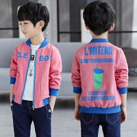 童装男童外套春装新款儿童春秋夹克男孩棒球服韩版休闲潮装