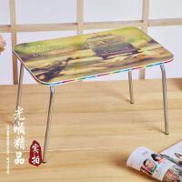【加强版】钢管床上电脑桌 U型懒人桌 简约笔记本电脑书桌