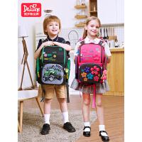 Delune书包减负减压护脊双肩背包小学生男12-34一年级女儿童书包