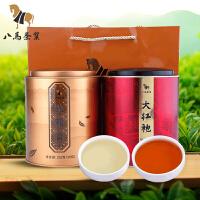 八马茶业 安溪铁观音乌龙茶大红袍茶叶组合罐装452克