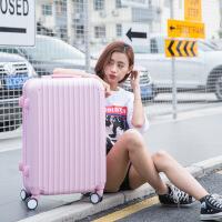 20180531043046788新款糖果色万向轮拉杆箱ABS密码行李箱20英寸旅行箱百搭时尚休闲旅行箱出国户外登机箱