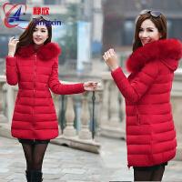 中年妇女装棉衣服女冬装韩中长款棉袄子冬天外套30羽绒35到40岁1