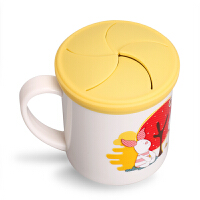 韩国爱婴小铺 迪士尼水杯 儿童幼儿园喝水杯不锈钢宝宝防摔零食杯