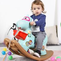 宝宝摇摇马塑料大号儿童木马摇马玩具厚婴儿1-2周岁带音乐马车