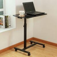 【满减】ORZ 多功能可移动电脑桌 可升降旋转懒人电脑桌置地移动床边桌