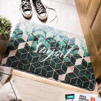 丝圈地垫 进门入户门厅脚垫 家用防滑客厅长方形塑料门垫子