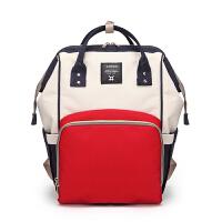 1宝妈包外出时尚母婴包多功能大容量妈妈背包双肩包旅行妈咪出行包
