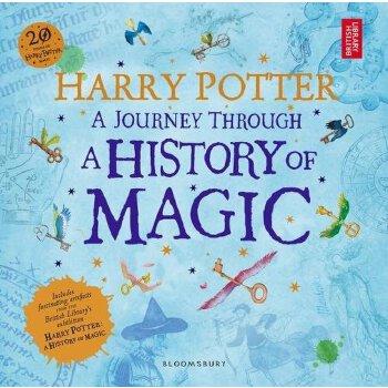 Harry Potter - A Journey Through A History of Magic 英文原版 大英图书馆:哈利波特展 魔法旅程 官方纪念辑