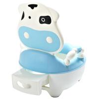 婴儿塑料靠背马桶有盖多功能儿童坐便器抽屉式宝宝座便器