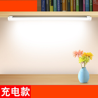 大学生宿舍灯管神器led护眼台灯学习寝室书桌USB阅读充电灯毙n6p 亮度高,低耗电,不占空间
