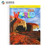 Explore Our World Level 4教师用书 原版正品美国国家地理小学英语教材 含光盘