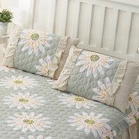 单人韩版花边夹棉枕套一对装 枕头套枕皮儿童枕芯套 45CMX75CM