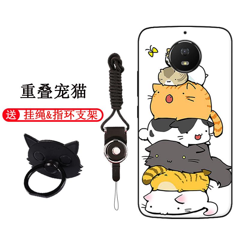 摩托罗拉G5S手机壳Moto青柚XT1799-2保护套1卡通防摔软硅胶全包边