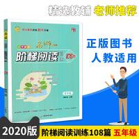 2020版海星图书 小学语文名师一点通阶梯阅读训练108篇 五5年级 全彩美绘 广东旅游出版社
