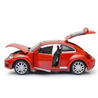 彩盒装大众汽车新甲壳虫街车版声光合金车模型儿童玩具车