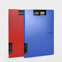 金得利 AF1000 折叠板夹 A4会议报告夹写字板 文件夹 颜色随机单个售价