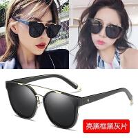新款韩版GM偏光太阳镜女潮大框方形开车司机墨镜男圆脸明星款眼镜