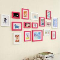 创意家居地中海 新款实木照片墙相片墙相框组合墙