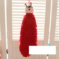 擦手巾挂式毛巾吸水加厚手巾方巾面巾厨房搽手
