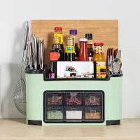 多功能调料盒套装厨房用品调味罐调料收纳盒调料盐罐作料盒置物架