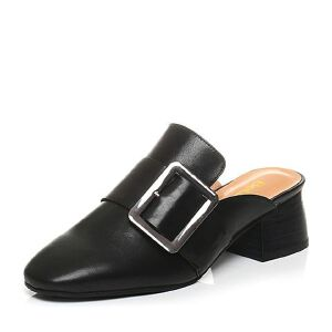 Belle/百丽春季专柜同款牛皮后空穆勒鞋女凉鞋BTL30AH7