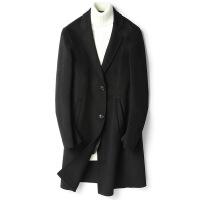 20181114234805010新款毛呢大衣男中长款英伦风羊毛呢子大衣双面呢外套零羊绒风衣男