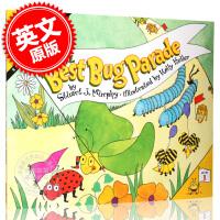 现货 很棒的昆虫游行(数学启蒙) 英文原版 The Best Bug Parade (MathStart 1) 启蒙读