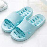拖鞋女夏家居室内浴室洗澡漏水儿童防滑镂空厚底男家用夏天凉拖鞋