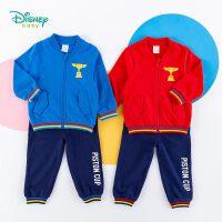 迪士尼Disney童�b 男童�\�犹籽b�W���昆印花外套�棉休�e��杉�套春秋新品�和�外出服潮