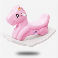 摇摇马塑料儿童韩小马 玩具宝宝木马1-6婴儿带音乐马车木马摇马一周岁生日礼物健身户外