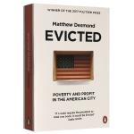正版现货 驱逐 英文原版 Evicted 扫地出门 美国大城市的贫穷与暴利 全英文版 比尔盖茨推荐书 2017普利策奖