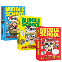 【全场300减100】英文原版  I Funny/I Even Funnier: A Middle School Story 3册合售 撞墙日记 儿童课后阅读章节桥梁书 中小学英语阅读提升 9-12岁