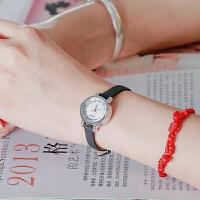 聚利时Julius新款石英表 单面皮表带 镶钻刻度显示 时尚女士手表JA-884