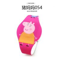 ?小猪佩琪佩奇玩具手表卡通夜光发光儿童宝宝led电子表社会人手表